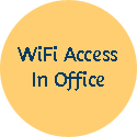 wifi access in office 125